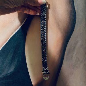 Henri Bendel Leather Bracelet